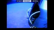 Феликс Баумгартнер скочи успешно от ръба на Космоса [ Целият Скок ]