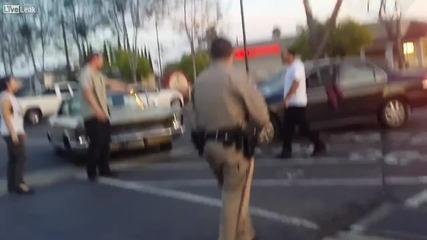 Наркоман с напукани прозорци заплашва шофьор и се опитва да избяга на полицията