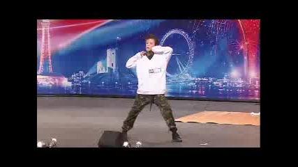George Sampson on Britains Got Talent 2008