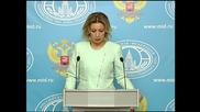 Russia: FM's Zakharova slams NATO's 'blind eye' to Turkish violations in Syria