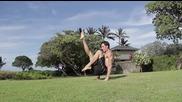 Стоеж на ръце с превъртане, гимнастика