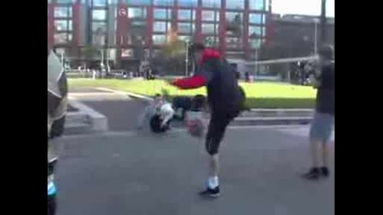 Football Freestyle In Manchester October 2008