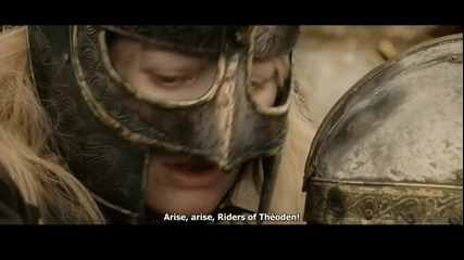 The Lord of the Rings - Rohirrim Charge (hd)
