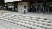Петър Низамов Перата в Самоков срещу мигрантите 09.10.2016г.