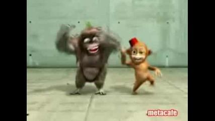 Анимация - Танцуващи Маймунки