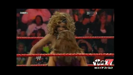 Wwe Hell In A Cell 2009 - Mickey James vs Alicia Fox ( Womens Championship )