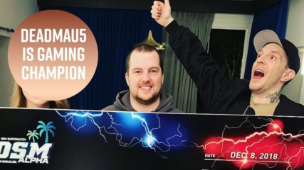 Deadmau5 wins celebrity gaming tournament