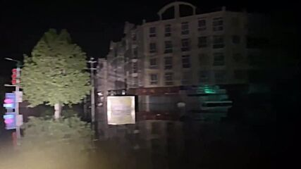 China: Rescue efforts continue in Weihui amid severe flooding in Henan province