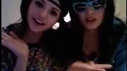 Demi Lovato and Selena Gomez Dance