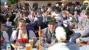 Obama Celebrates Decades of U.S Friendship With Germany On Bavarian Trip