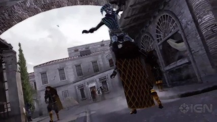 Assassins Creed Brotherhood Harlequin Trailer
