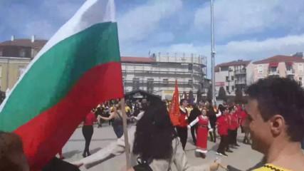 3 март 2020 г. Бургас. Празнично хоро (5)