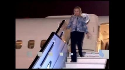 Хилари Клинтън на визита в Израел