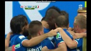Англия 1:2 Италия (бг аудио) мондиал 2014