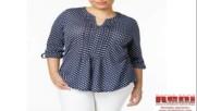 Блузи за едри жени