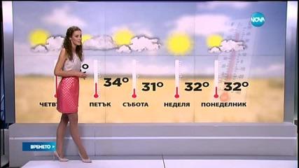 Прогноза за времето (29.07.2015 - централна)