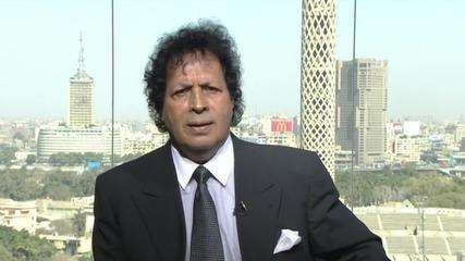 Egypt: Gaddafi's cousin speaks on uprising anniversary
