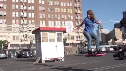 Летящ Скейтборд !!! Мечтите Ни Се Сбъдват !!