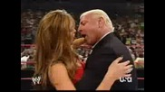 Wwe Ric Flair Kisses Maria