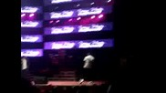Chris Brown dancing to Billie Jean at Lil Waynes concert (high Quality)