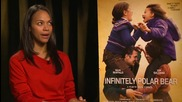 Zoe Saldana On Parental Wisdom and 'Infinitely Polar Bear'