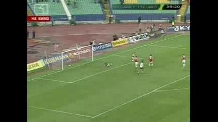 България - Беларус 2:1