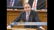 Министърът на вътрешните работи Веселин Вучков бе изслушан в НС за изчезналите тефтери на Ф. Златанов