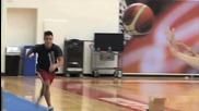 Страхотни Олимпийски Трикове С Баскетболна Топка