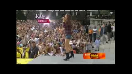 Miley Cyrus - 7 things ![live]!