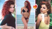 """Ваня от """"Игри на волята"""" стигна до морето и  хвърли горнището на банския в горещо видео"""