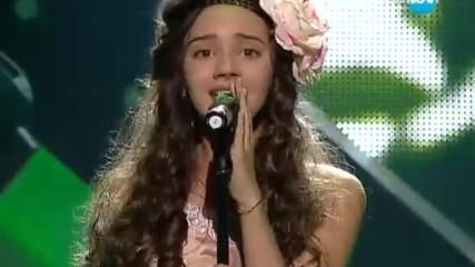 Биляна Лазарова (българска песен) - Големите надежди 1/2-финал - 28.05.2014 г.