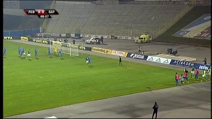 Берое поведе на Левски с 1:0