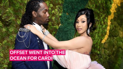 Cardi B literally got the Titanic diamond for her birthday