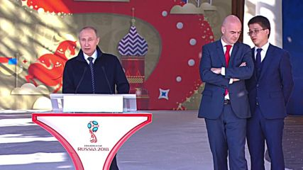 Russia: Putin and FIFA's Infantino launch volunteer campaign for World Cup