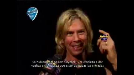 Duff Mckagan Интервю Май 2007г.