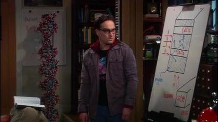 The Big Bang Theory - First Bazinga Ever Теорията На Големият Взрив - Първата Базинга