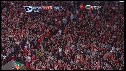 Liverpool 4 - 1 Hull City Gerrard