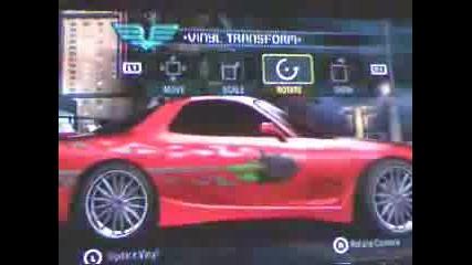 Как Се Прави Mazda Rx - 7 От Бързи И Яростни