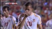 08.09.14 Испания - Македония 5:1 *квалификация за Европейско първенство 2016*