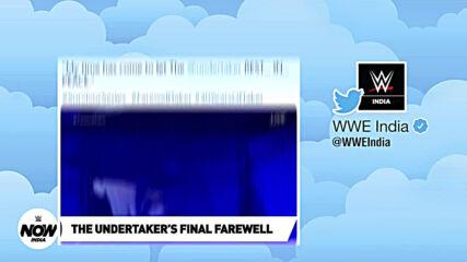 The Undertaker Bids His Final Goodbye   Survivor Series Recap: WWE Now India