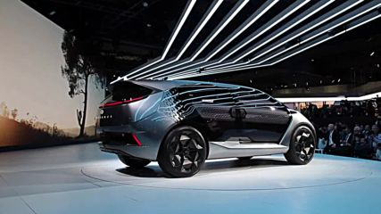 USA: GAC makes grand 'Entranze' at NAIAS with futuristic electric concept car