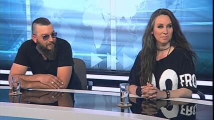 Марин Трошанов за новата му книга и група СЕВИ за новата песен на вокалистката Светлана Близнакова