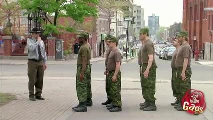 Гей армия -скрита камера
