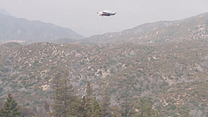 USA: Firefighting operations underway as Bobcat Fire burns close to Mount Wilson Observatory