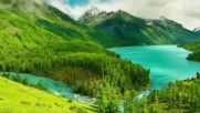 Езера, заобиколени с красота ...