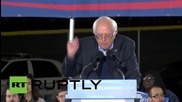USA: Bernie Sanders slams US prison system, Donald Trump in latest election rally