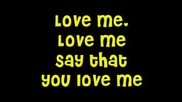 Love Me - Justin Bieber Lyrics