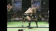 N O A H 14.06.2009 - Chris Hero & Genba Hirayanagi vs Masao Inoue & Yuto Aijima