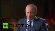 Russia: Assad's troops are only legal army fighting terrorism in Syria- Putin
