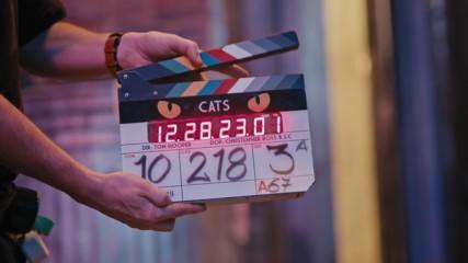 Котките Cats (2019) - видео зад кадър с български субтитри